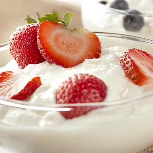 Plain yogurt, fermented vegetables and supplements are great sources of helpful probiotics.