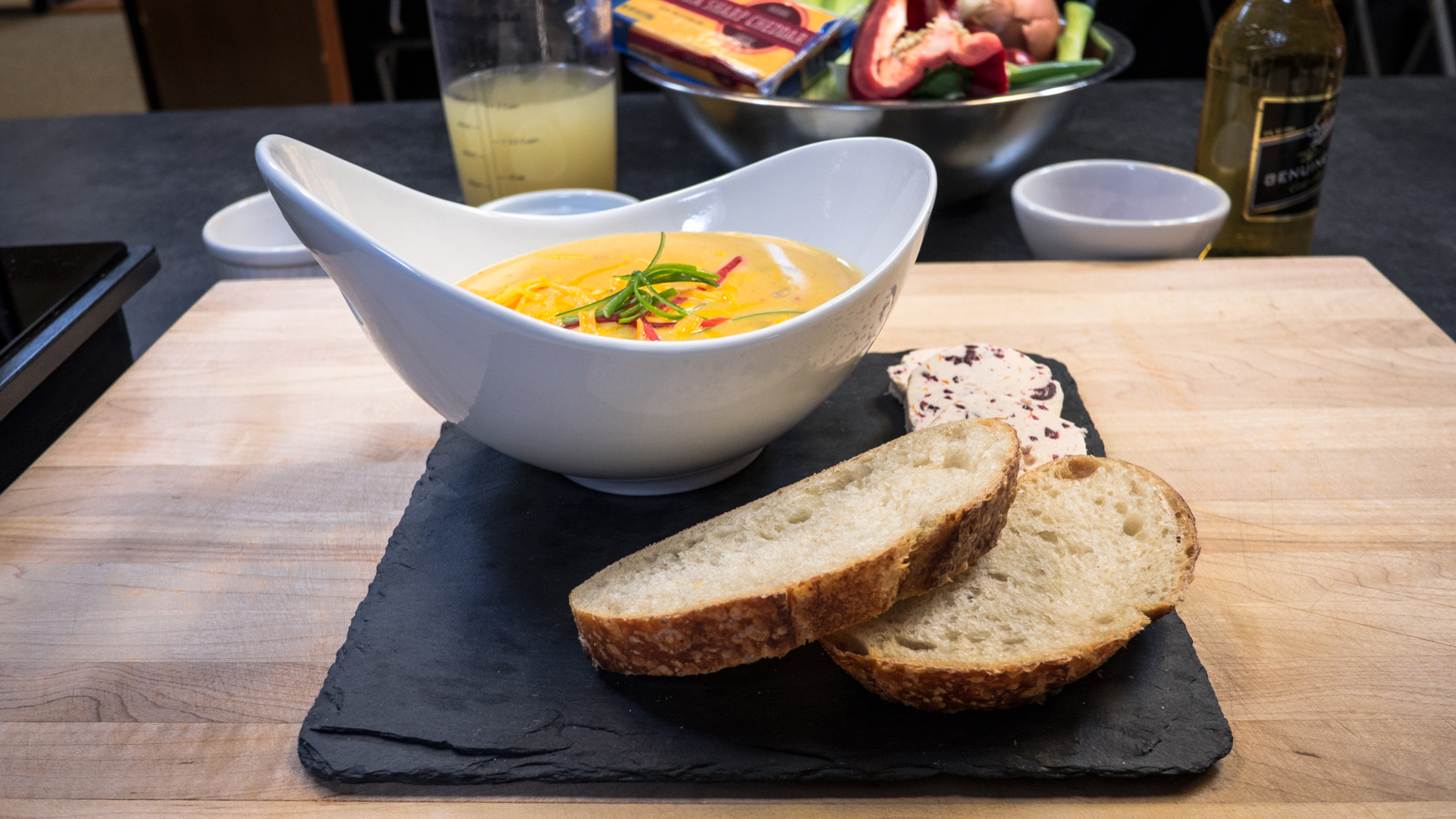 How To Make Wisconsin Cheddar Beer Soup