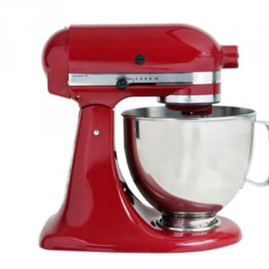 A large mixer is very helpful for people baking with a lot of thick dough and batters.