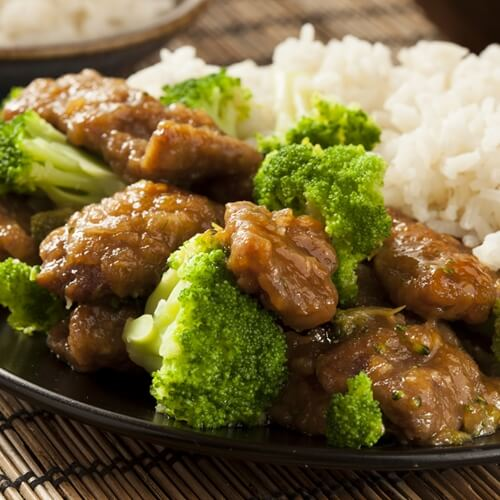 Beef and broccoli is a great weeknight dinner.