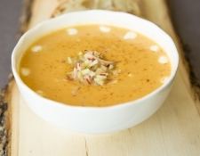 How To Make Roasted Sweet Potato & Apple Soup