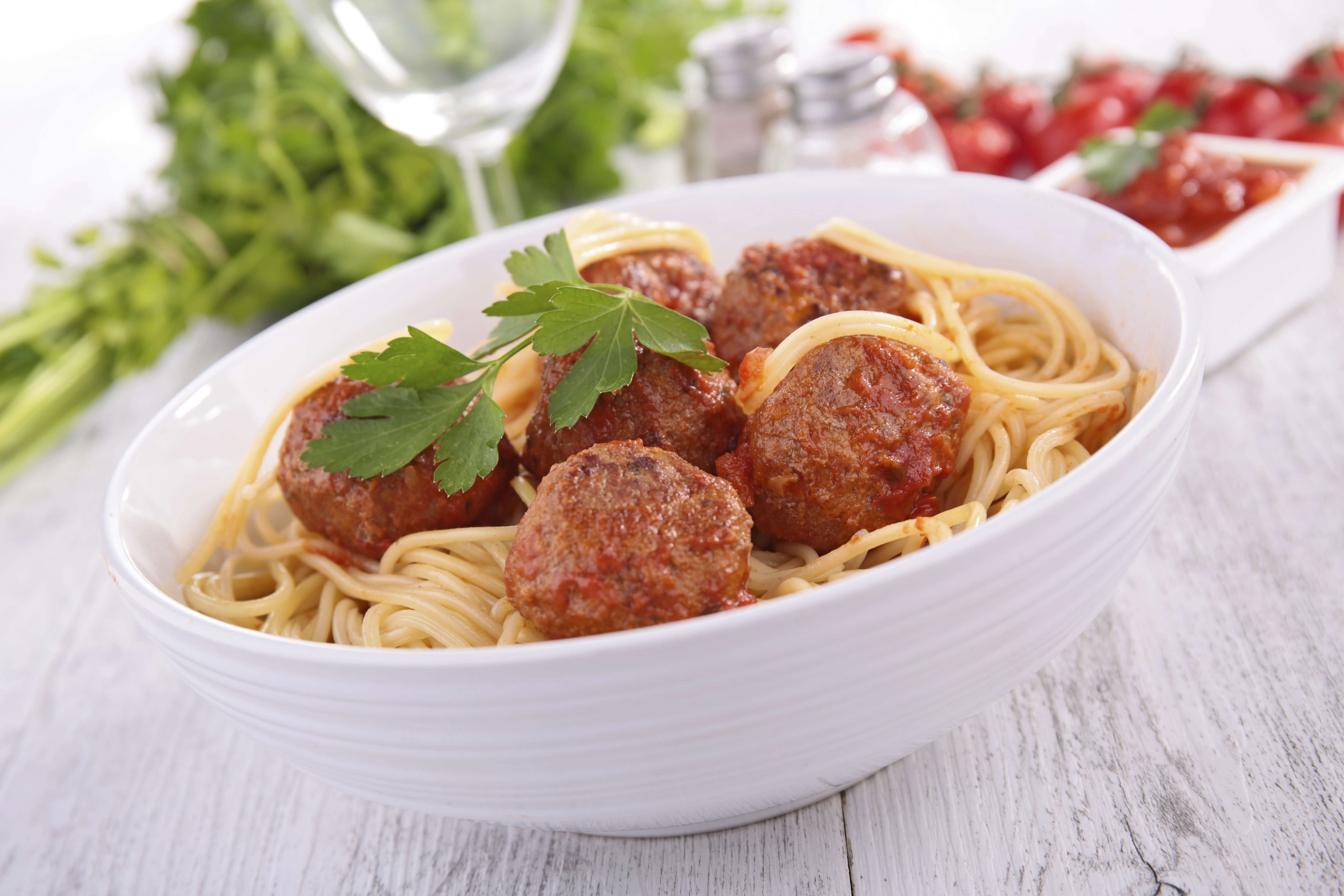 A history of spaghetti and meatballs