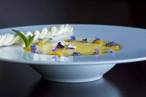 You can get as creative as you want garnishing this dish.
