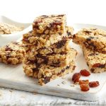 Homemade granola bars are a healthier alternative to store bought.