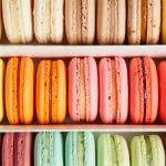 Macarons are a light and elegant dessert.