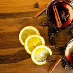 Mulled wine is a great holiday drink.