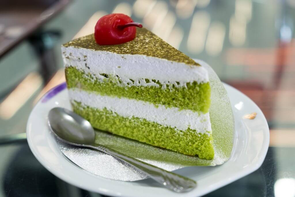 Matcha's unique flavor and bold color lends itself well to pastries.