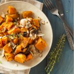 Sweet potatoes can be served as a side dish or dessert.