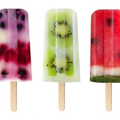 Ice pops feature many combinations of delicious flavors.