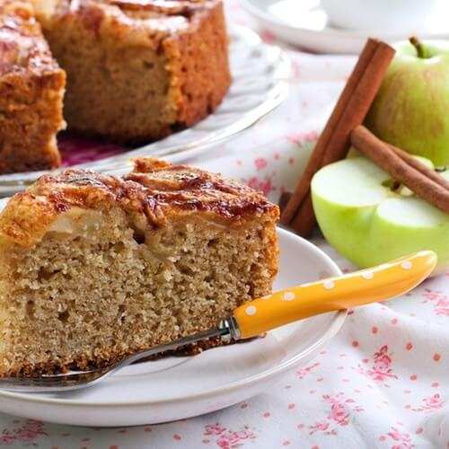 Vegan dishes like apple cake prove you don't need animal products for a great dessert.