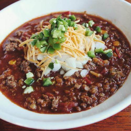 Chili is great on its own and also a versatile addition to your recipes.