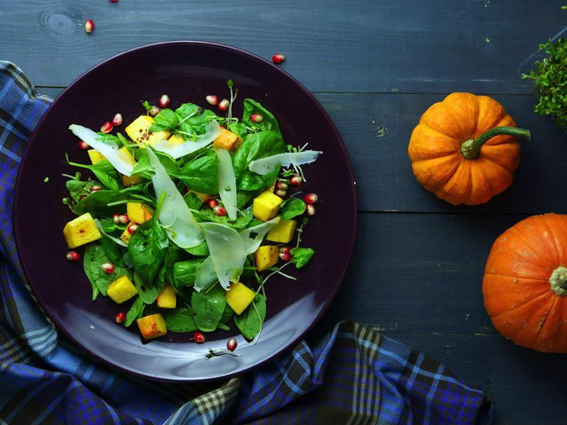 Turn roasted pumpkin into an exceptional salad.