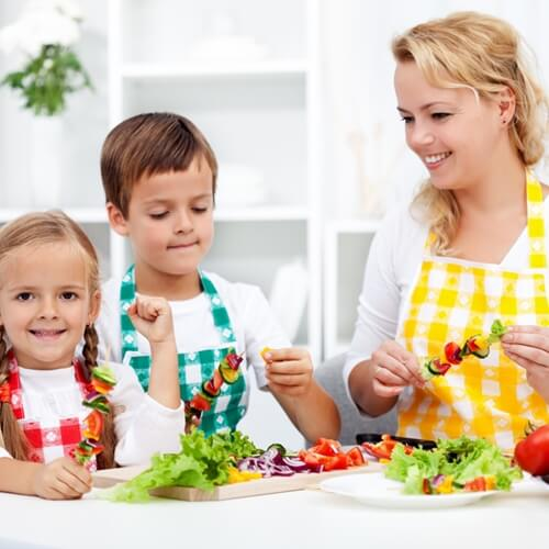Easy and fun meals for children