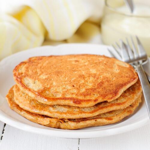 The salty pancake